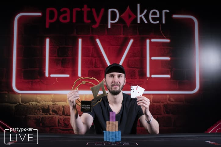 Jonathan Depa wins partypoker MILLIONS South America $25,000 Super High Roller