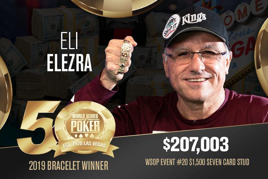 Elezra wins WSOP bracelet