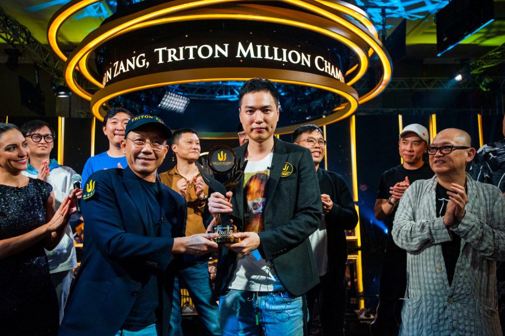 Aaron Zang Wins the Triton Million