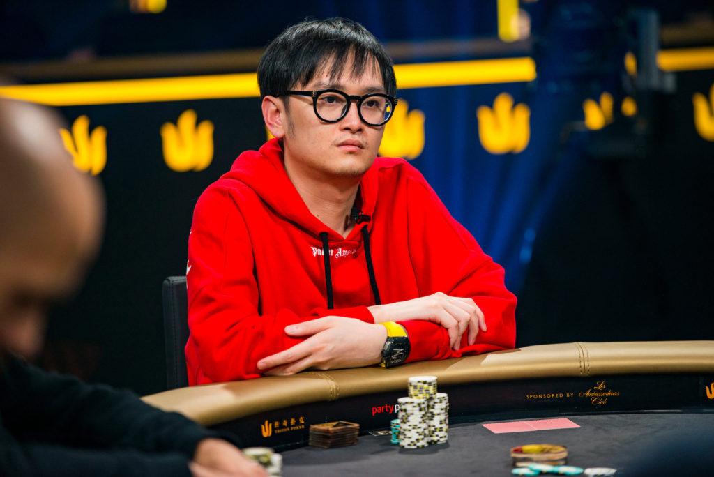 Wai Kin Yong at the poker table
