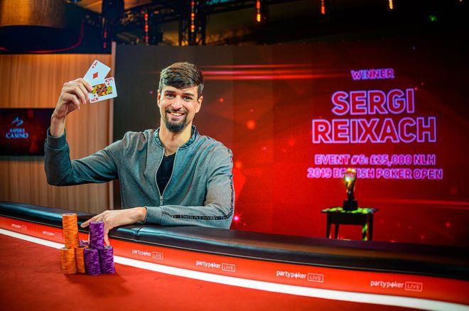 British Poker Open Sergi Reixach Wins Event 6 25 000 No Limit Hold Em Paul Phua Poker