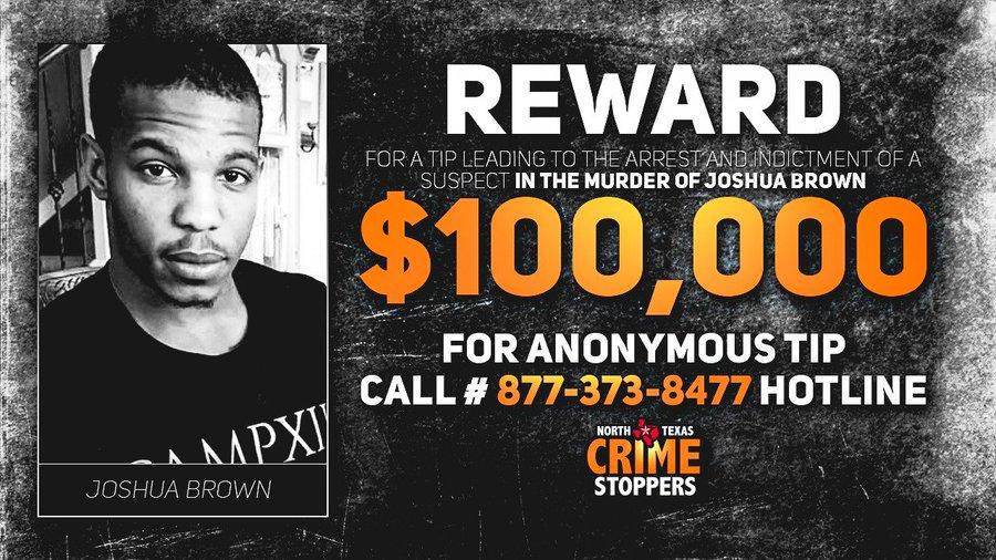 Bill Perkins Offers $100,000 Reward in Joshua Brown Case.
