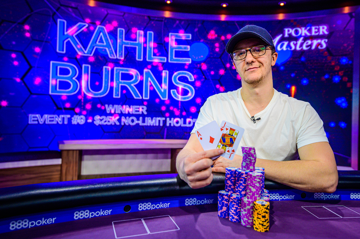 The Third Rail: Burns Wins Event #9: $25k NLHE at Poker Masters; Soverel, Burns, Winter & Kornuth in Contention With One Event Left
