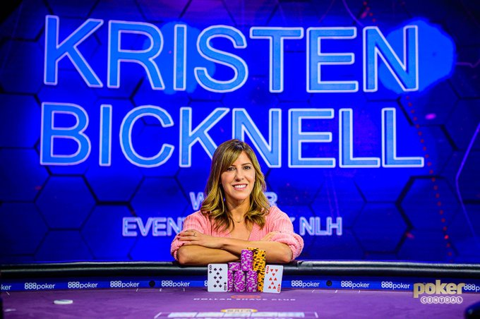 The Third Rail: Kristen Bicknell Wins Event #6: $25k No-Limit Hold'em at The Poker Masters
