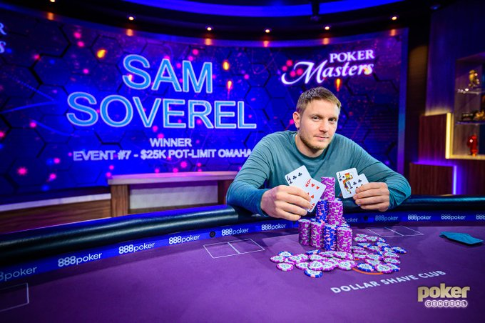 The Third Rail: Soverel Closes The Gap on Kornuth After Winning Event #7: $25,000 Pot-Limit Omaha at The Poker Masters