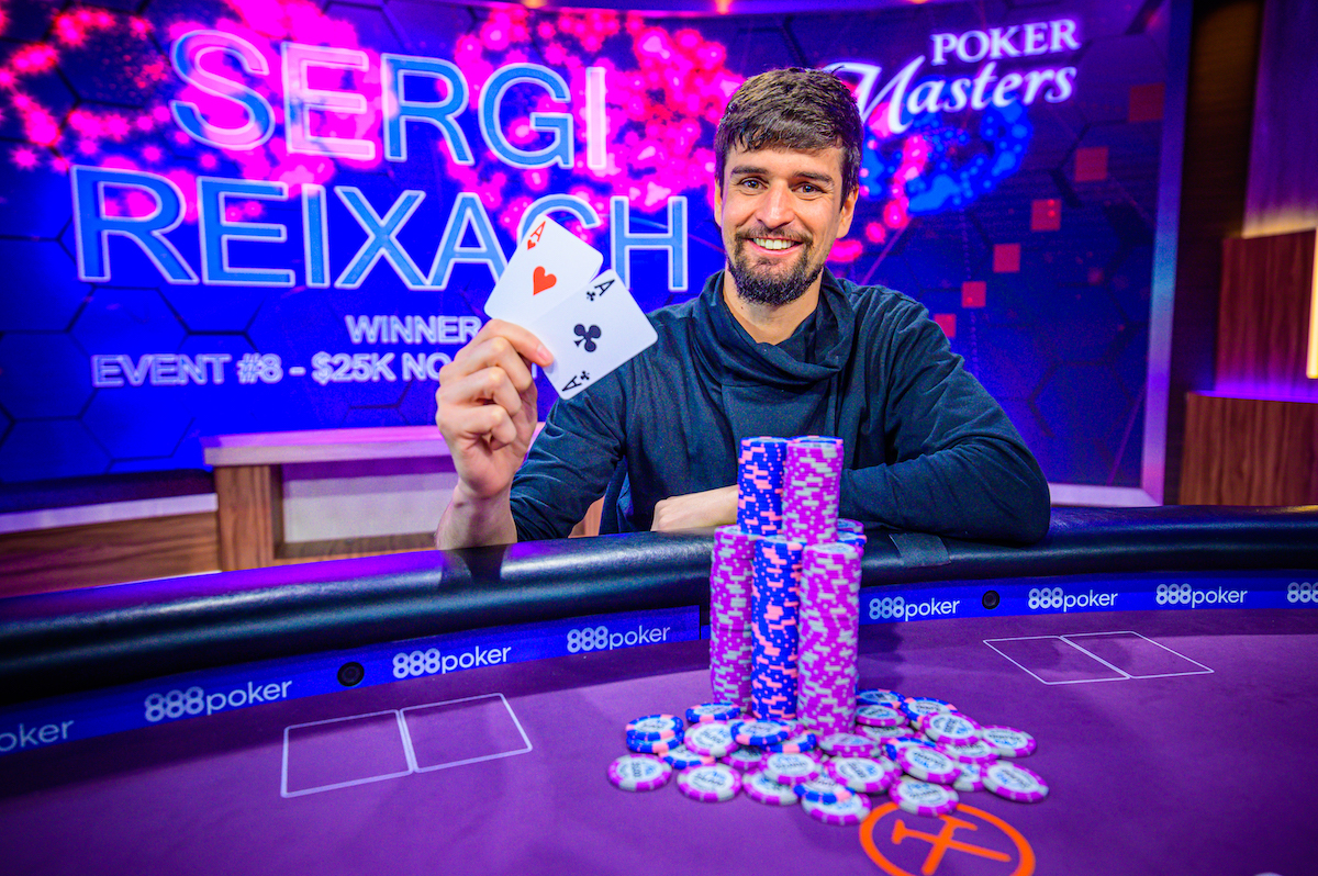 The Third Rail: Rexiach Wins Event #8: 25k NLHE at the Poker Masters; Soverel Takes Championship Lead