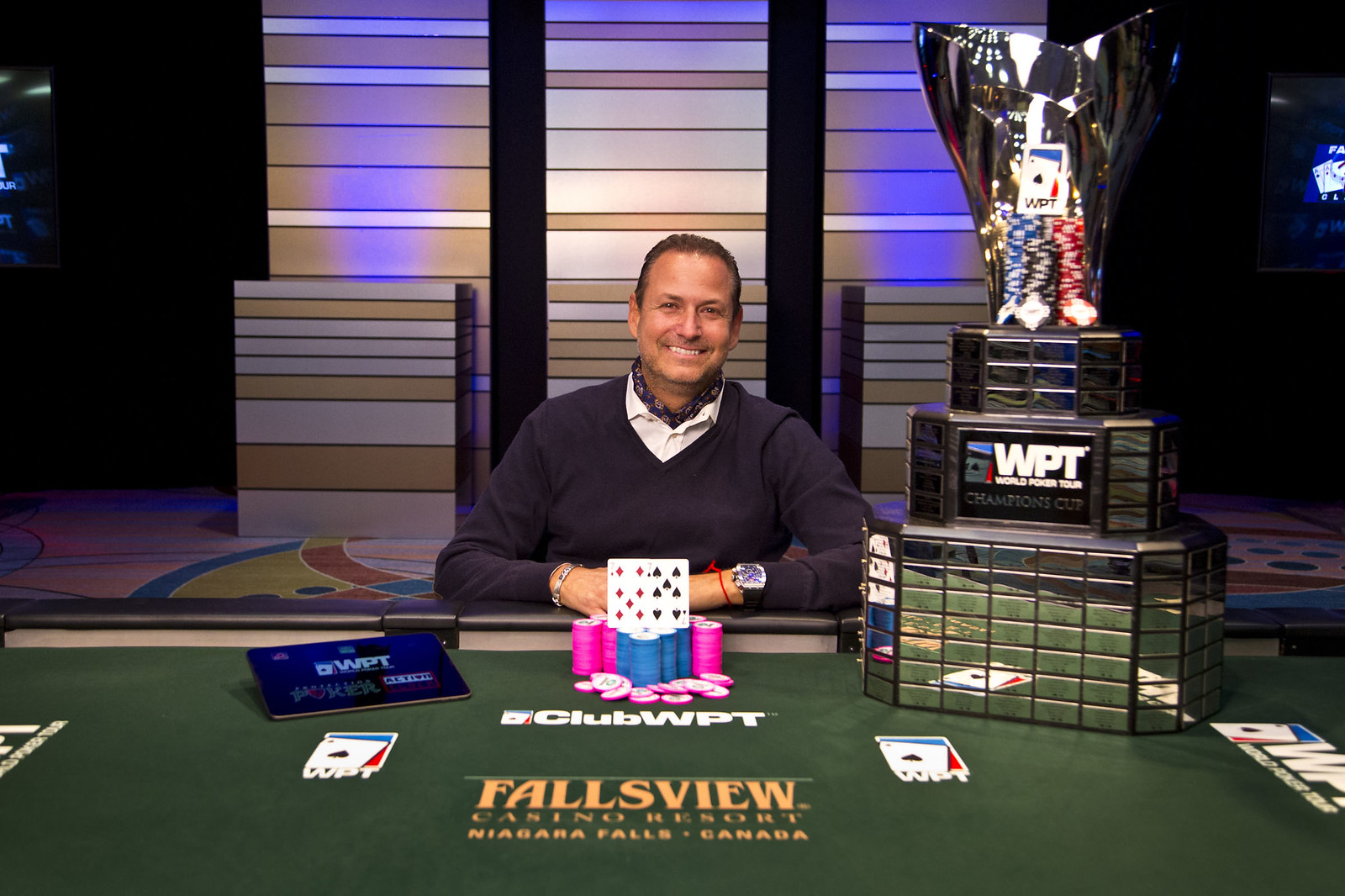 WPT Fallsview Poker Classic: Eric Afriat Joins The Triple Title WPT Club