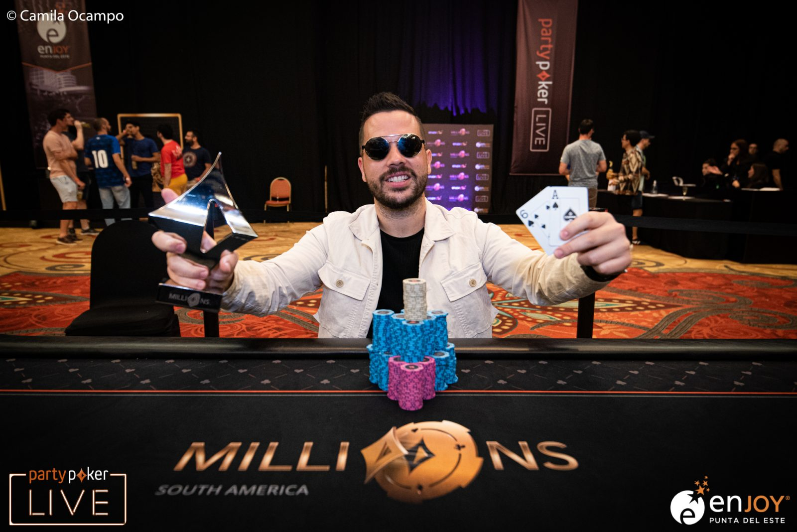 partypoker MILLIONS South America: Farid Jattin Picks up Another Win